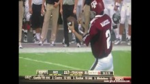 johnny manziel signs football then throws it sports gif